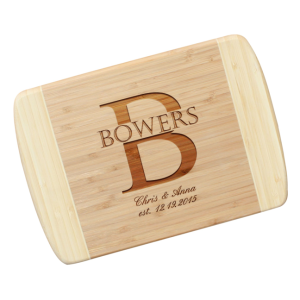 Personalized Bamboo Cutting Board - The D'Antonio