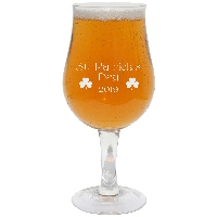 St. Patrick's Day Annual Belgian Glass