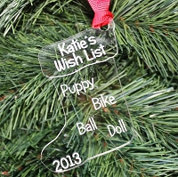 Their Wish List - Personalized Christmas Ornament
