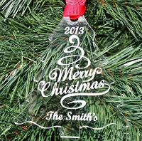 Our Christmas Tree - Personalized Ornament