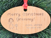 Grandma or Mom Personalized Ornament