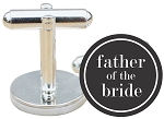 Traditional Father of the Bride Cuff Links