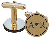 I Heart You Cuff Links