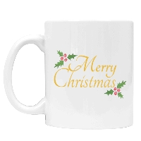 Christmas Hollyberry Mug