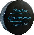 Personalized Hockey Puck - The Script