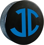 Monogrammed Hockey Puck
