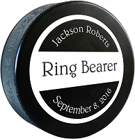 Custom Printed Hockey Puck
