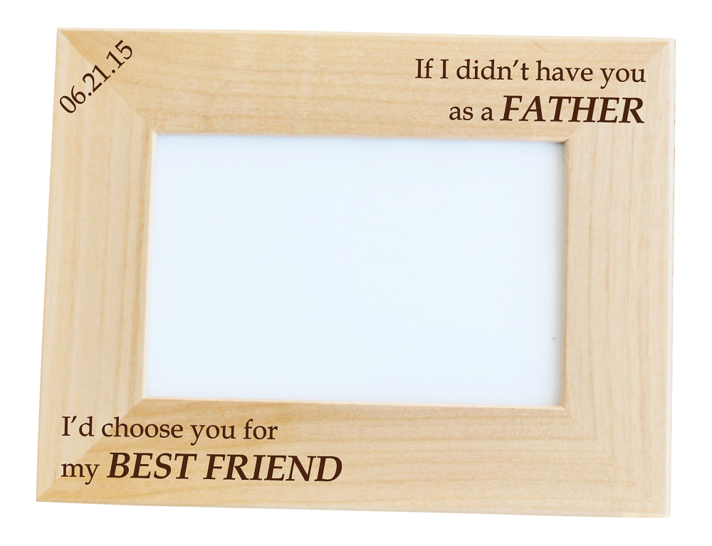 my best friend custom photo frame