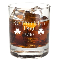 St. Patrick's Day Annual Rocks Glass