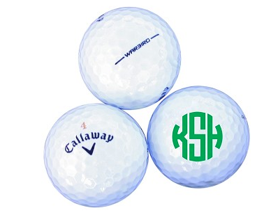 Engraved Golf Balls