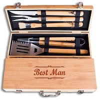 Personalized Grill Set for Wedding Party