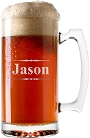 Engraved Traditional Beer Mug