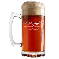 Mommin' Aint Easy Beer Mug