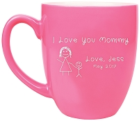 I Love My Mommy Personalized Coffee Mug