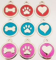 Die Struck Pet ID Tag