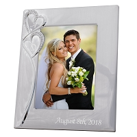 Personalized Our Hearts Wedding Photo Frame (COPY)