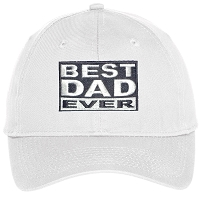 Best Dad Ever Embroidered Hat