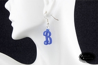 Dangle Earrings - Script Initial