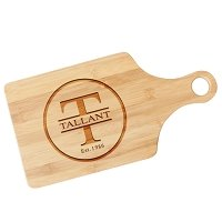 Family Circle Personalized Paddle Cutting Board