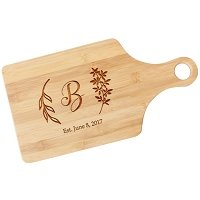 Personalized Paddle Board - Leaves