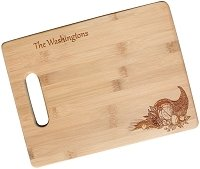 Engraved Fall Cutting Board with Personalization