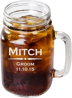 Personalized Classic Mason Jar