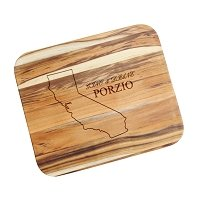 State Pride Engraved Teak Cutting Board