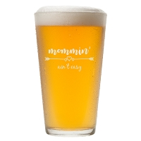 Mommin' Aint Easy Pint Glass