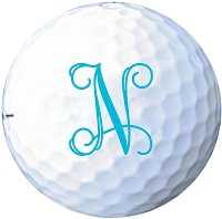 Custom Initial Monogram Golf Ball