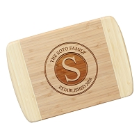 Blonde Bamboo Cutting Board - The Stamp