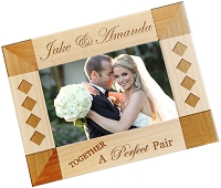 A Perfect Pair Personalized Photo Frame