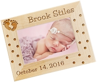 Tiny Footprints Personalized Photo Frame