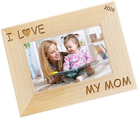 I Heart You Personalized Photo Frame
