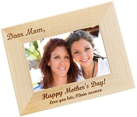 Dear Mom Personalized Photo Frame