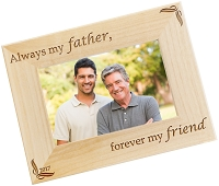 Always My Father - Personalized Photo Frame
