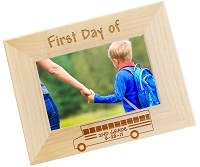 Personalized First Day of School Picture Frame