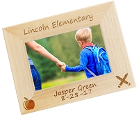 Back To School Personalized Picture Frame