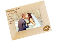 Love Always Alder Picture Frame
