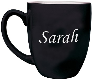 Personalized Coffee Mug Engraved with Any Text