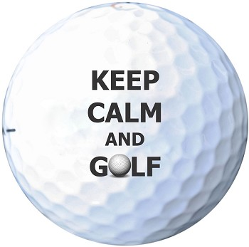 Golf Ball Gift Set - Keep Calm and Golf
