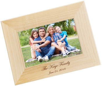 Simply You and Me Personalized Photo Frame