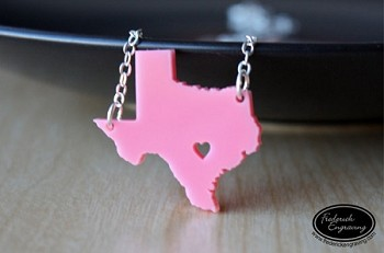 State Love Necklace - Any State
