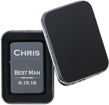 Classic Engraved Flip Top Lighter