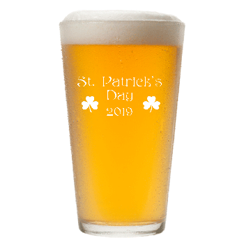 St. Patrick's Day Annual Pint Glass